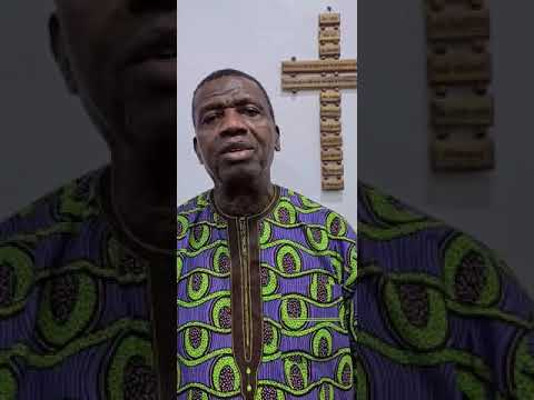 PASTOR E.A ADEBOYE SPECIAL THANKS AND PRAYERS TO ALL HEALTH WORKERS