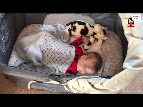 Diono Dreamliner travel bassinet review video by Mommytalks