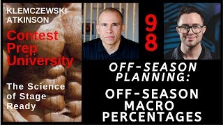 Contest Prep University EP-98 Off Season Planning: Off-Season Macro Percentages