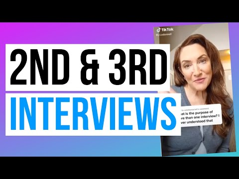 How To Nail 2nd & 3rd Job Interviews photo