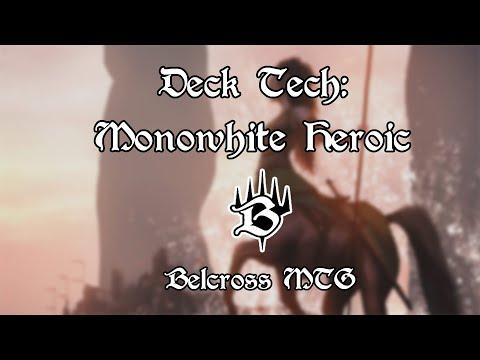 Deck Tech: Monowhite Heroic - Pauper
