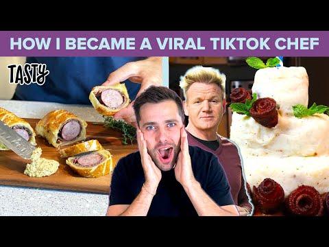 How I Got Gordon Ramsay To React To My TikTok Recipes ?Tasty