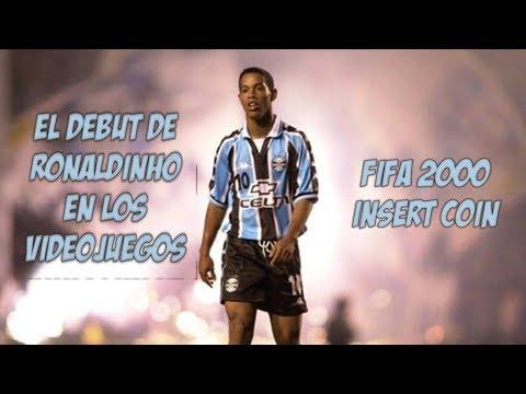 El debut de Ronaldinho en los videojuegos - FIFA 2000