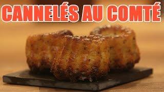 Recettes de cuisine : Minute Cuisine Spécial apéritif : recette de cannelés au comté !! un régal en vidéo