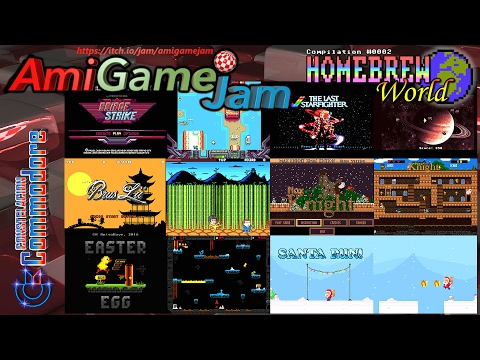 AmigameJam 2016 Amiga Games Compo | Homebrew World #0002