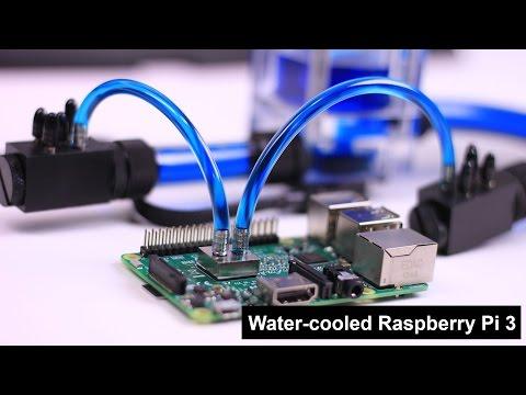 Water Cooled Raspberry Pi 3 - UCrjKdwxaQMSV_NDywgKXVmw