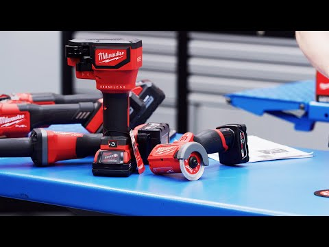 Milwaukee Cordless Unboxing: M18/M12 Cut Off Tools