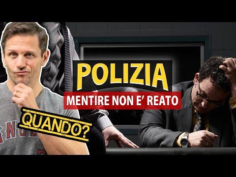 MENTIRE alla POLIZIA: quando NON È REATO | Avv. Angelo Greco