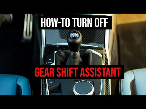 BMW Gear Shift Assistant | How To Turn Off Rev Matching