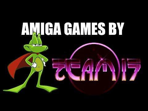 AMIGA TEAM 17 GAMES
