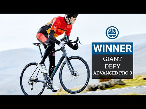 Comfort Road Bike of the Year WINNER | Giant Defy Advanced Pro 0
