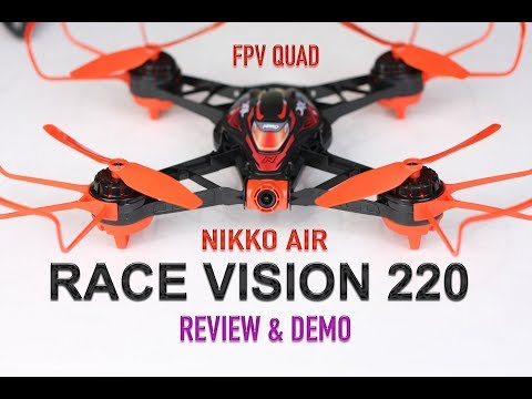 DRL Nikko Air Race Drone Vision 220 FPV Pro - Review & Demo - UCm0rmRuPifODAiW8zSLXs2A