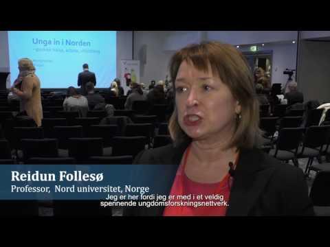 Unga in i Norden - psykisk hälsa, arbete och utbildning (tekstet på norsk)