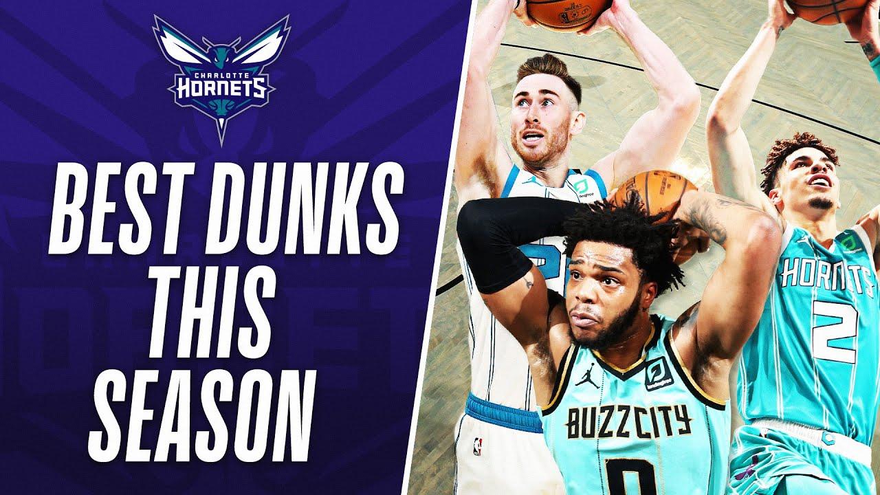 Best Charlotte Hornets' DUNKS This Season!