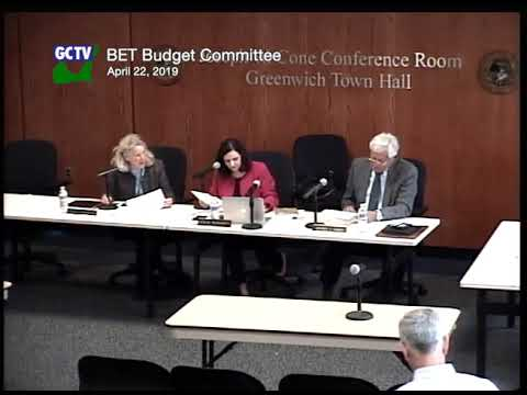BET Budget Committee, April 15, 2019