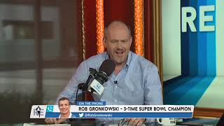Super Bowl Champion Rob Gronkowski on a Potential Return to the Pats | The Rich Eisen Show | 7/3/19