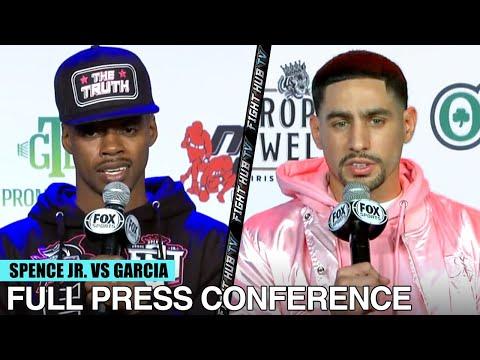 ERROL SPENCE JR. VS DANNY GARCIA | FULL FINAL PRESS CONFERENCE & FACE OFF VIDEO