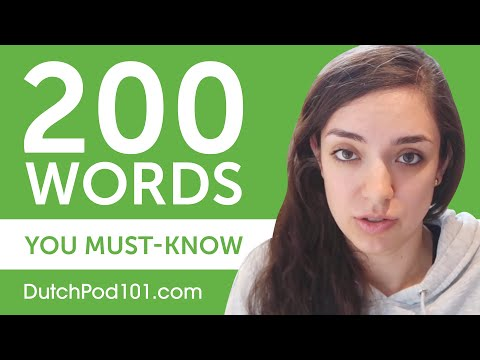 200 Words Every Dutch Beginner Must-Know photo