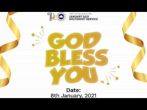 RCCG JANUARY 2021 HOLY GHOST SERVICE - PSF  YOUTH HOUR