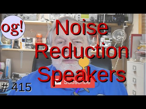 Noise Reduction Speakers (#415)