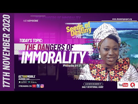 Dr Becky Paul-Enenche - SEEDS OF DESTINY - TUESDAY NOVEMBER 17, 2020