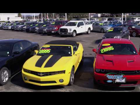 """Salinas Valley Ford - """"Pre-Owned Vehicles"""""""