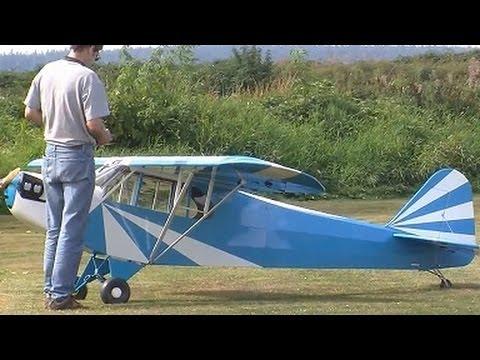 Rc Giant Cub J3 - Jonny's Winter Flight | FpvRacer lt
