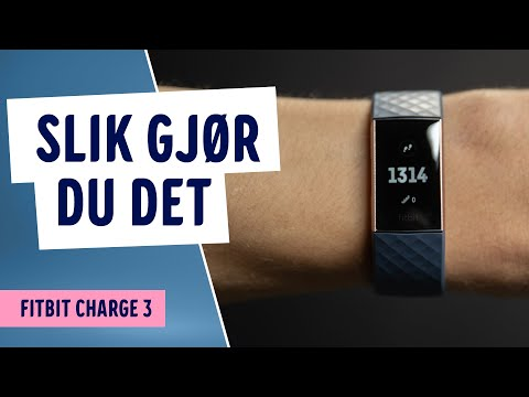 Hvordan synkronisere FitBit Charge 3