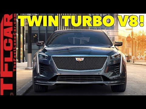 2019 Cadillac CT6 VSport: Is the Big American V8 Luxury Sedan Back?