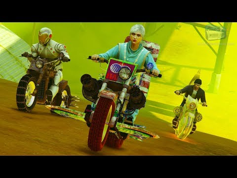 GTA Online: Arena War - Buzzer Beater Gameplay