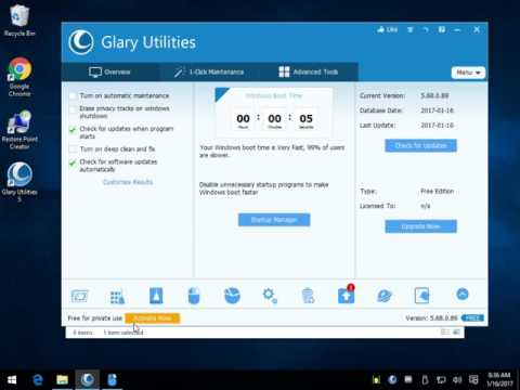 Clean, Maintain, Fix, And Protect Your Computer With Glary Utilities