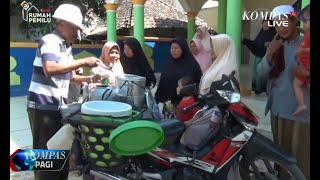 Penjual Es Cincau di Majalengka Berangkat Haji