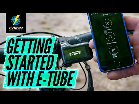 Getting Started With The Shimano E Tube App | E Bike Set Up Tips