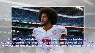 What is next for former NFL quarterback Colin Kaepernick after resolving grievances with the NFL?
