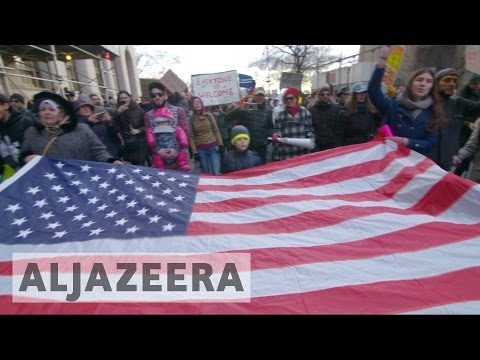 Protests across US against Trump's immigration ban