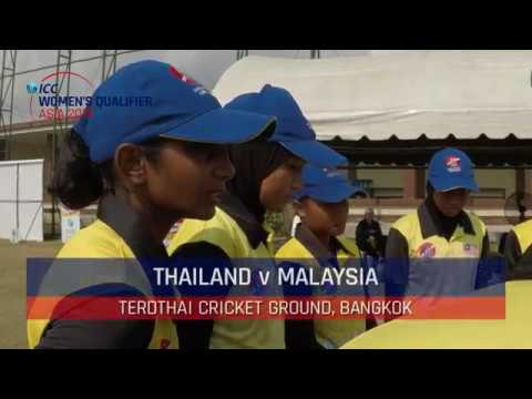 ICC Women's Asia Qualifier 2019: Thailand v Malaysia Highlights