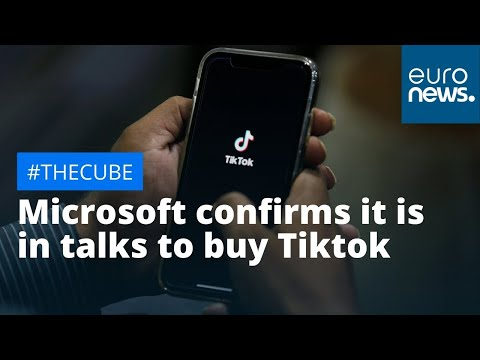 #TheCube Microsoft confirms it is in talks to buy Tiktok