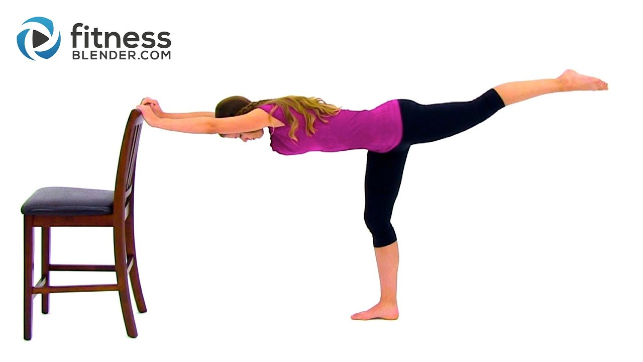 Fitness Blender Barre Workout Video – Free 39 Minute Barre Workout at Home