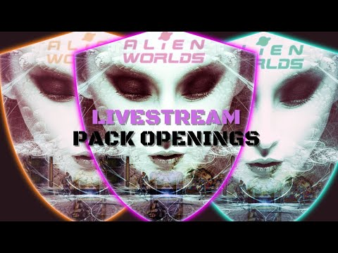 ALIENWORLDS SOLD OUT | OPEN SOME PACKS WITH ME!