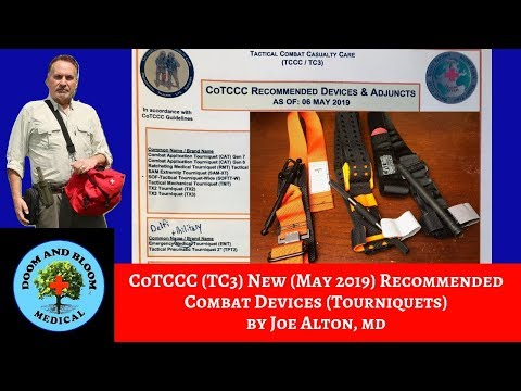 New CoTCCC Combat Tourniquet Recommendations on May 6 2019