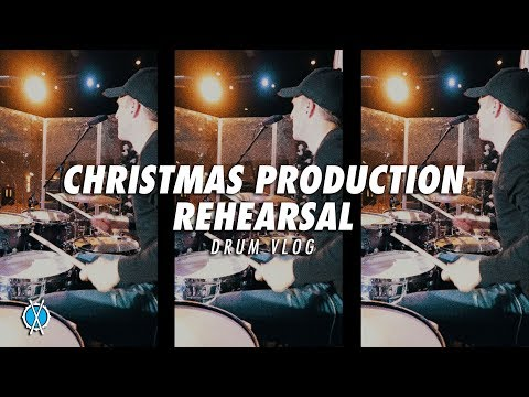 Drum Vlog // Christmas Program Rehearsal