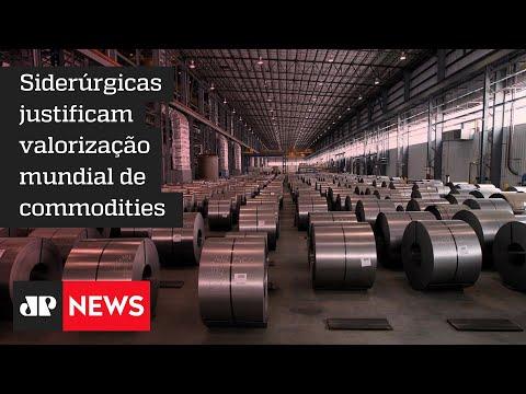 Empresários brasileiros buscam aço mais barato no exterior