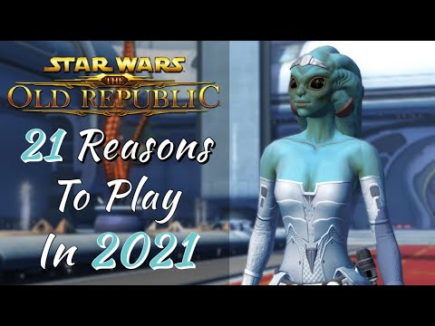 21 Reasons to Play SWTOR in 2021