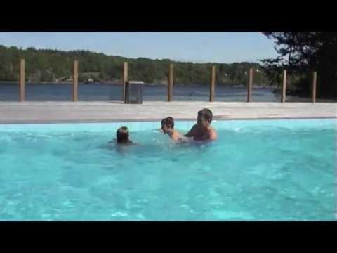 Vanns utomhuspool Trailer