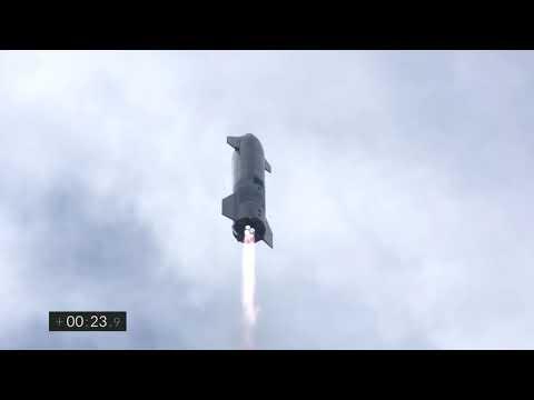 Starship | SN10 | High-Altitude Flight Test