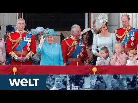 DER WINDSOR-CLAN: Queen gibt ihren Segen -  Meghan und Harry gehen in Teilzeit