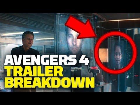 Marvel's Avengers: Endgame Trailer #1 BREAKDOWN, Secrets & Easter Eggs - Rewind Theater - UCKy1dAqELo0zrOtPkf0eTMw