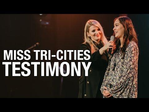 Testimony of Miss Tri-Cities