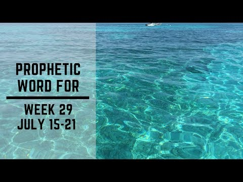 Weekly Word 15 July 2019