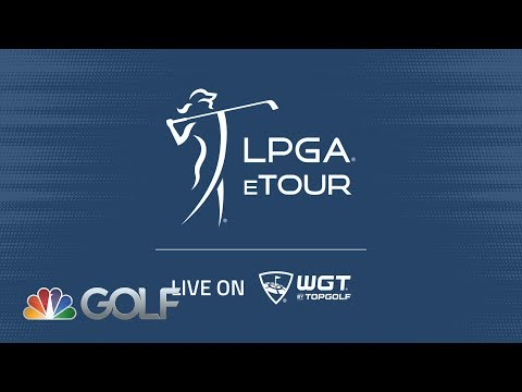 2020 LPGA eTour Live WGT Jenny Shin vs Tiffany Joh   Golf Channel